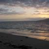 Kihei beach at sunset